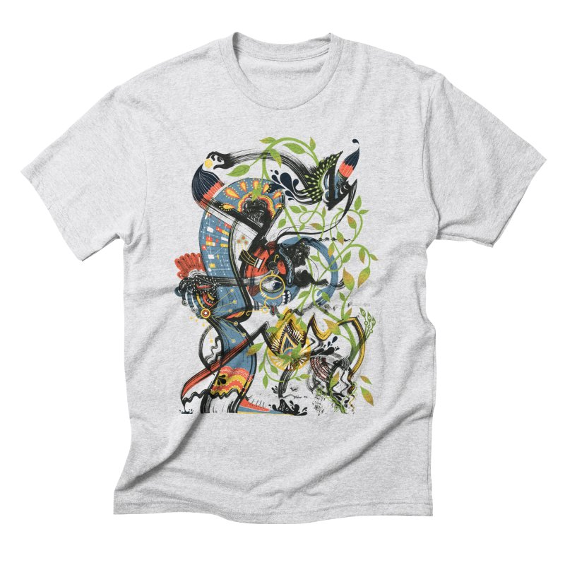 Discovery Men's Triblend T-Shirt by HABBENINK's Artist Shop