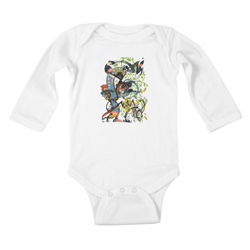 Discovery Kids Baby Longsleeve Bodysuit by HABBENINK's Artist Shop