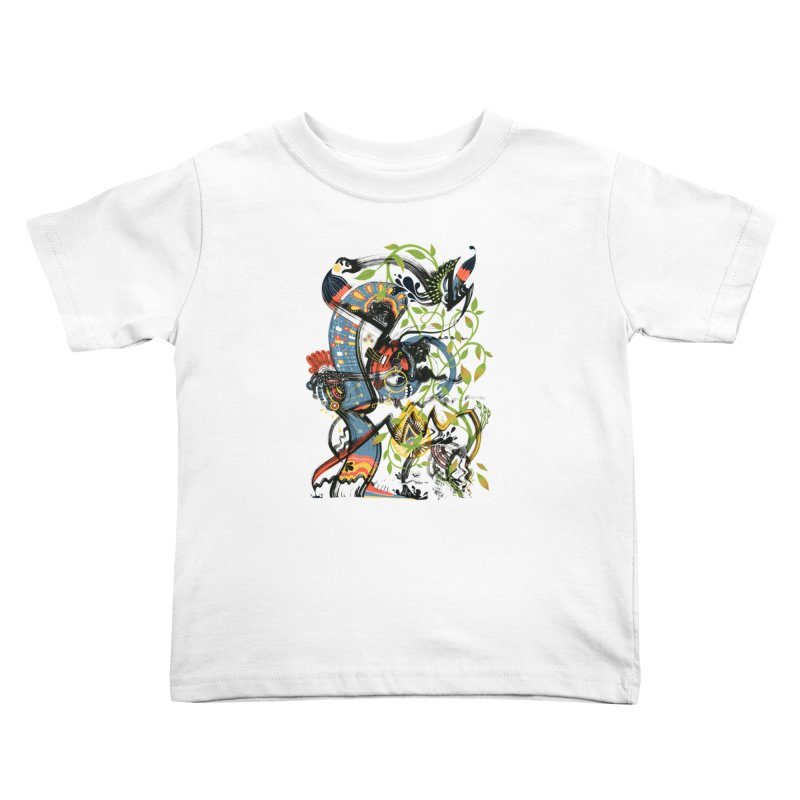 Discovery Kids Toddler T-Shirt by HABBENINK's Artist Shop