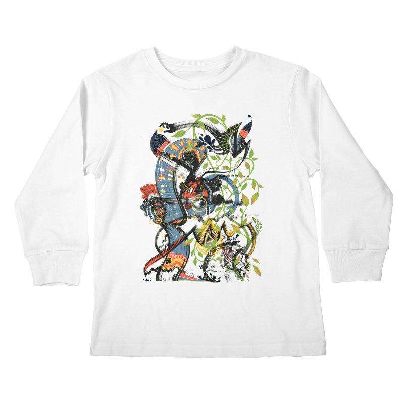 Discovery Kids Longsleeve T-Shirt by HABBENINK's Artist Shop