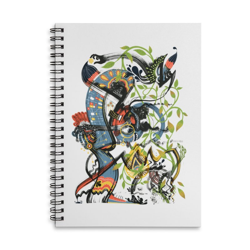 Discovery Accessories Lined Spiral Notebook by HABBENINK's Artist Shop