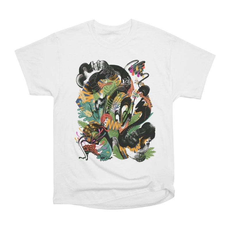 In the Garden Women's Heavyweight Unisex T-Shirt by HABBENINK's Artist Shop
