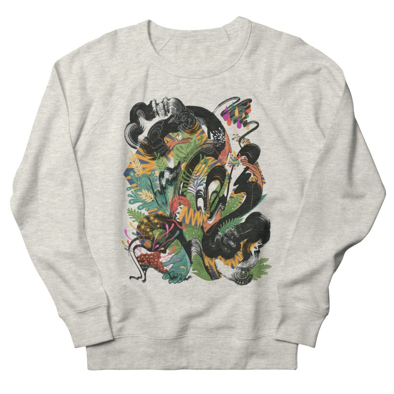In the Garden Men's Sweatshirt by HABBENINK's Artist Shop