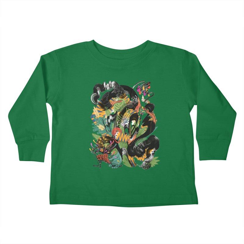 In the Garden Kids Toddler Longsleeve T-Shirt by HABBENINK's Artist Shop