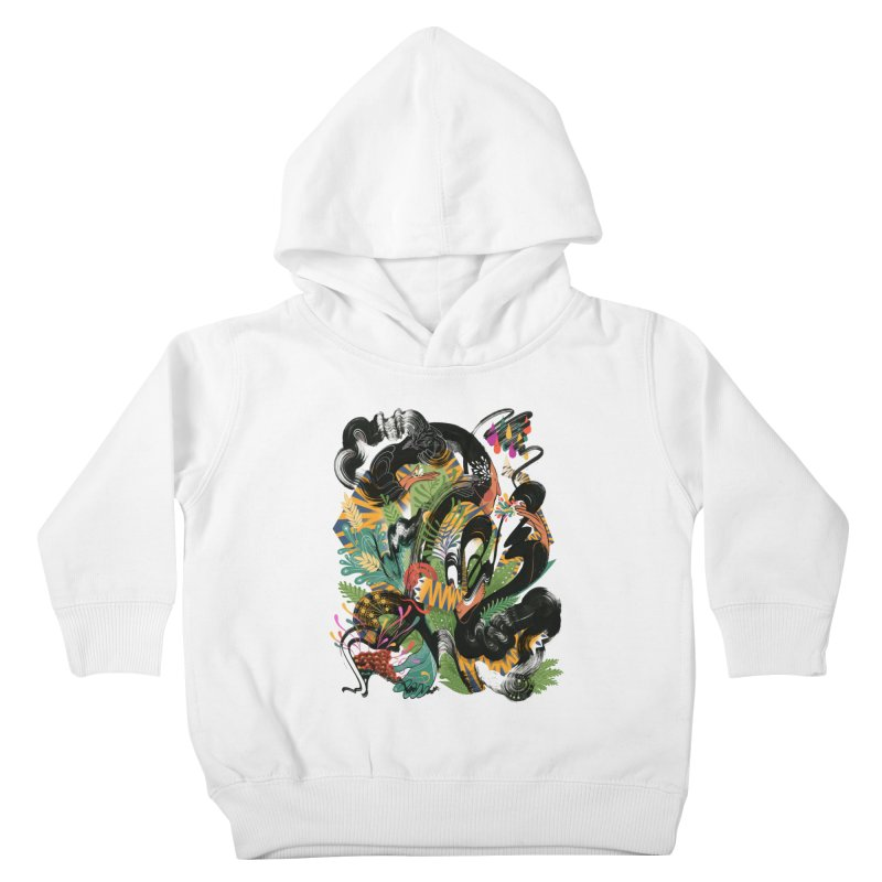 In the Garden Kids Toddler Pullover Hoody by HABBENINK's Artist Shop