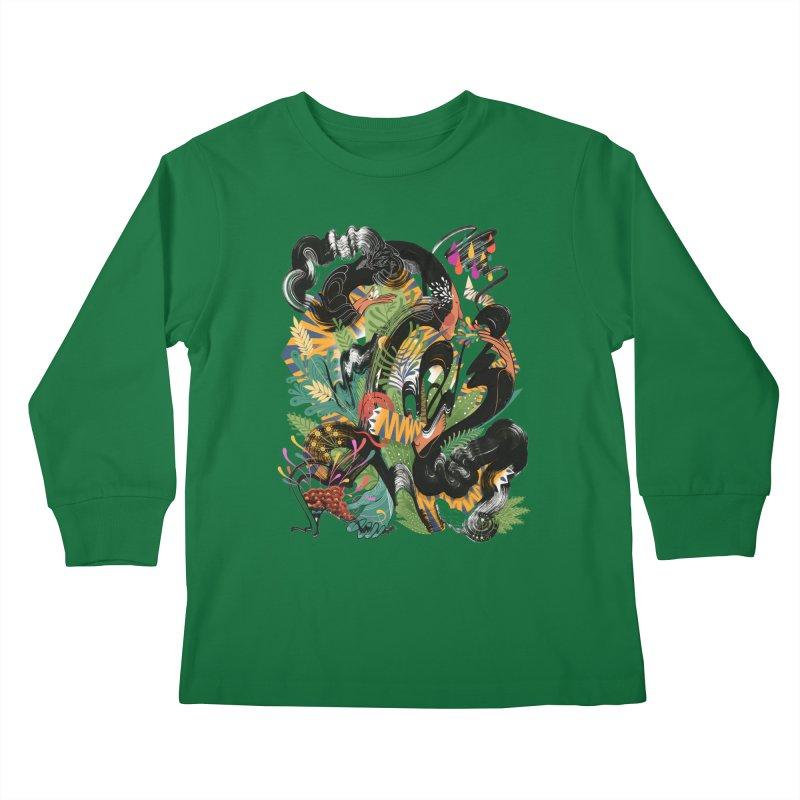 In the Garden Kids Longsleeve T-Shirt by HABBENINK's Artist Shop