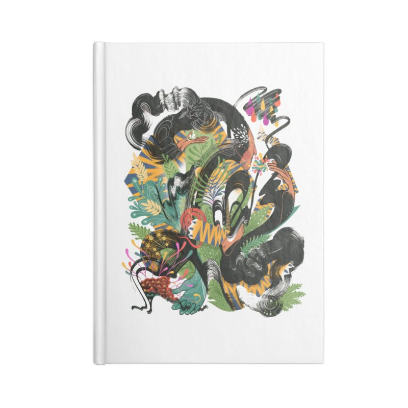 In the Garden Accessories Lined Journal Notebook by HABBENINK's Artist Shop
