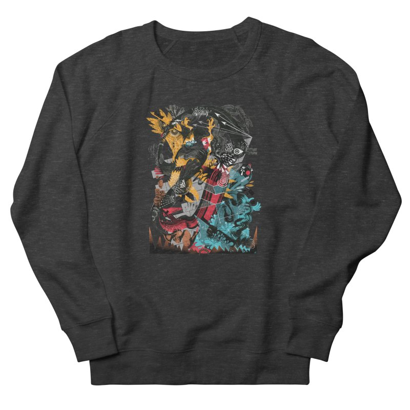 Nacido Sin Rostro Men's French Terry Sweatshirt by HABBENINK's Artist Shop