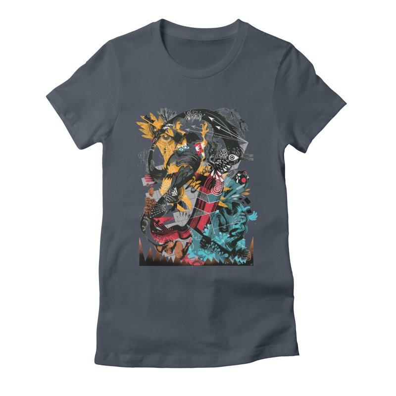 Nacido Sin Rostro Women's T-Shirt by HABBENINK's Artist Shop
