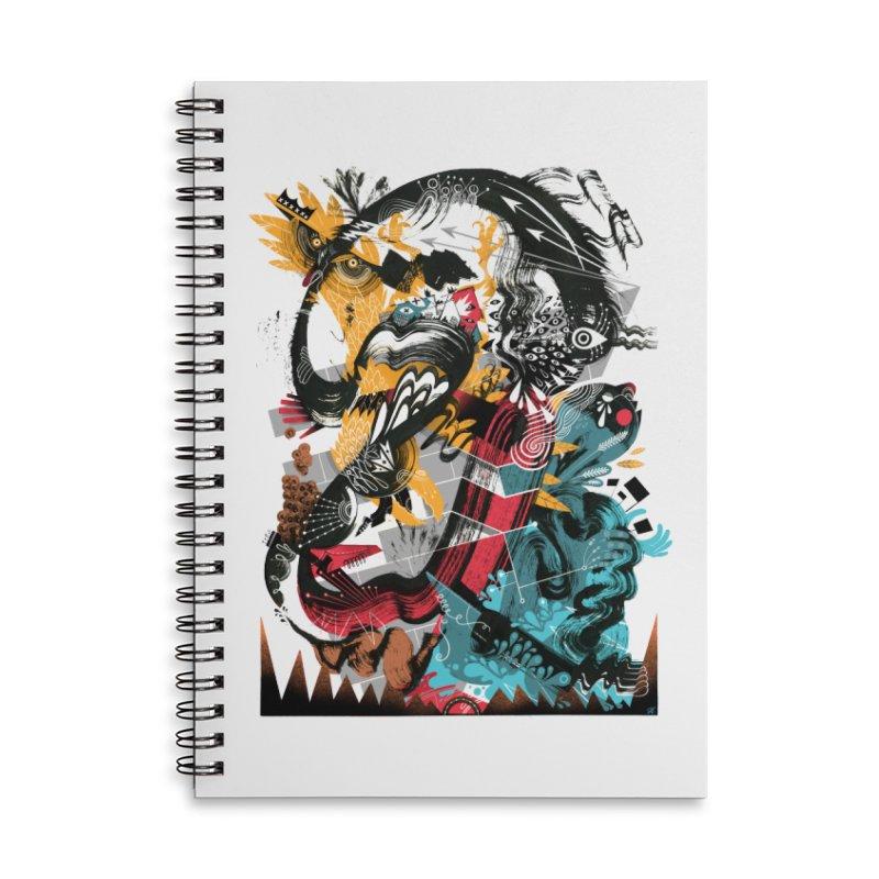 Nacido Sin Rostro Accessories Lined Spiral Notebook by HABBENINK's Artist Shop