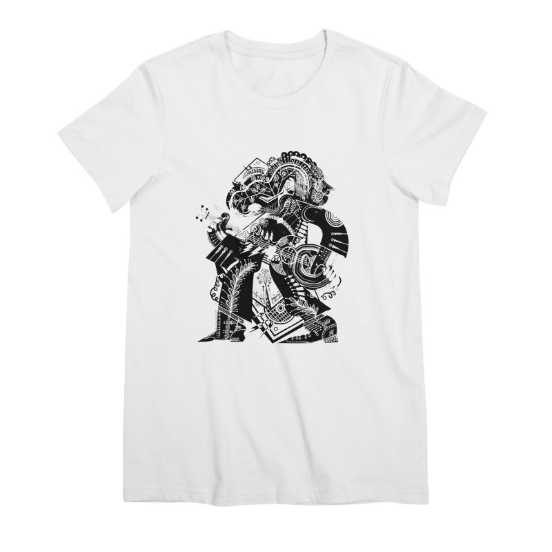 Something to Say (B/W) Women's T-Shirt by HABBENINK's Artist Shop