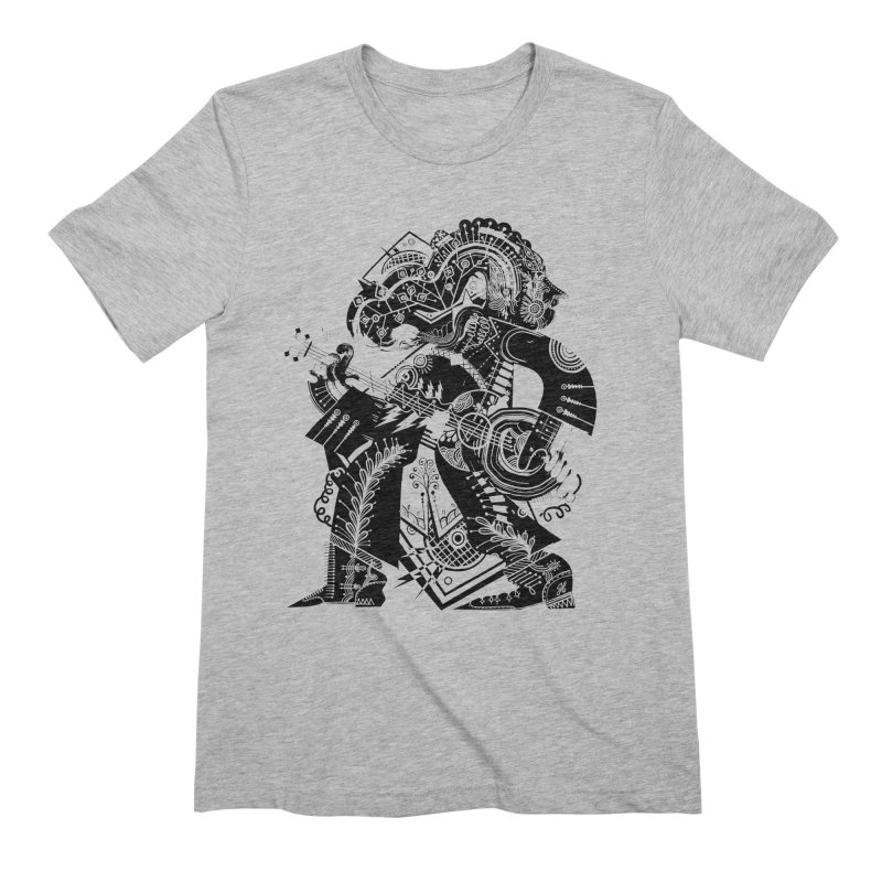 Something to Say (B/W) Men's Extra Soft T-Shirt by HABBENINK's Artist Shop