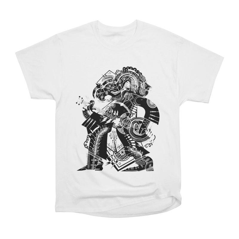 Something to Say (B/W) Men's T-Shirt by HABBENINK's Artist Shop