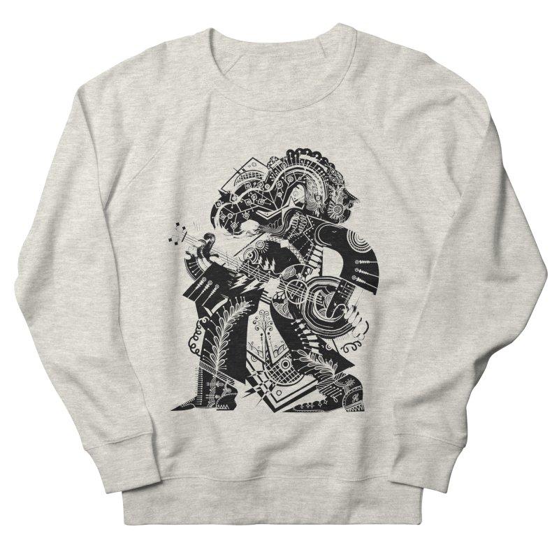 Something to Say (B/W) Men's Sweatshirt by HABBENINK's Artist Shop