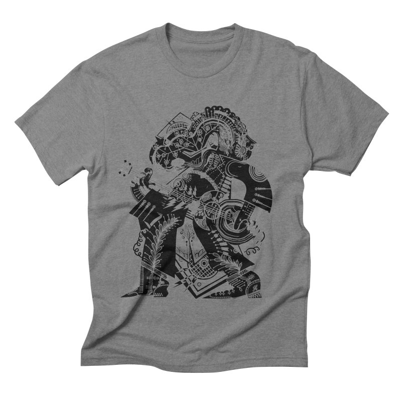 Something to Say (B/W) Men's T-Shirt by HABBENINK's Artist Shop