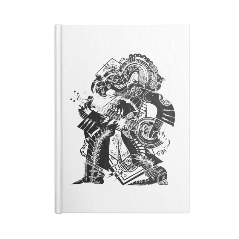 Something to Say (B/W) Accessories Lined Journal Notebook by HABBENINK's Artist Shop