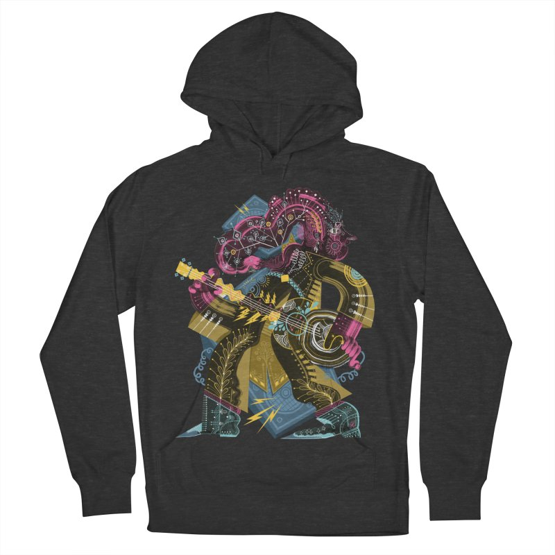 Something to Say Men's French Terry Pullover Hoody by HABBENINK's Artist Shop