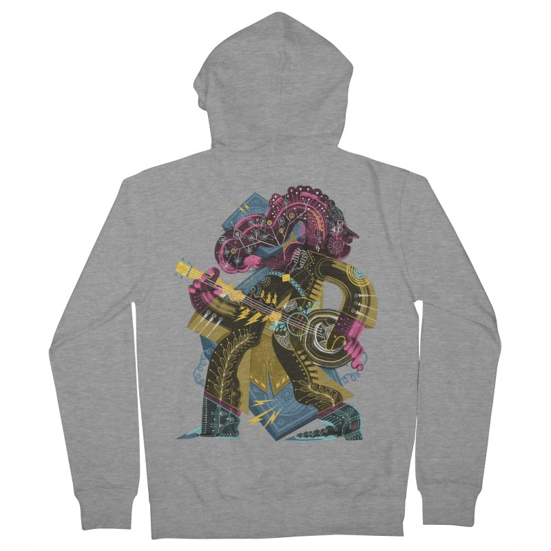 Something to Say Women's French Terry Zip-Up Hoody by HABBENINK's Artist Shop