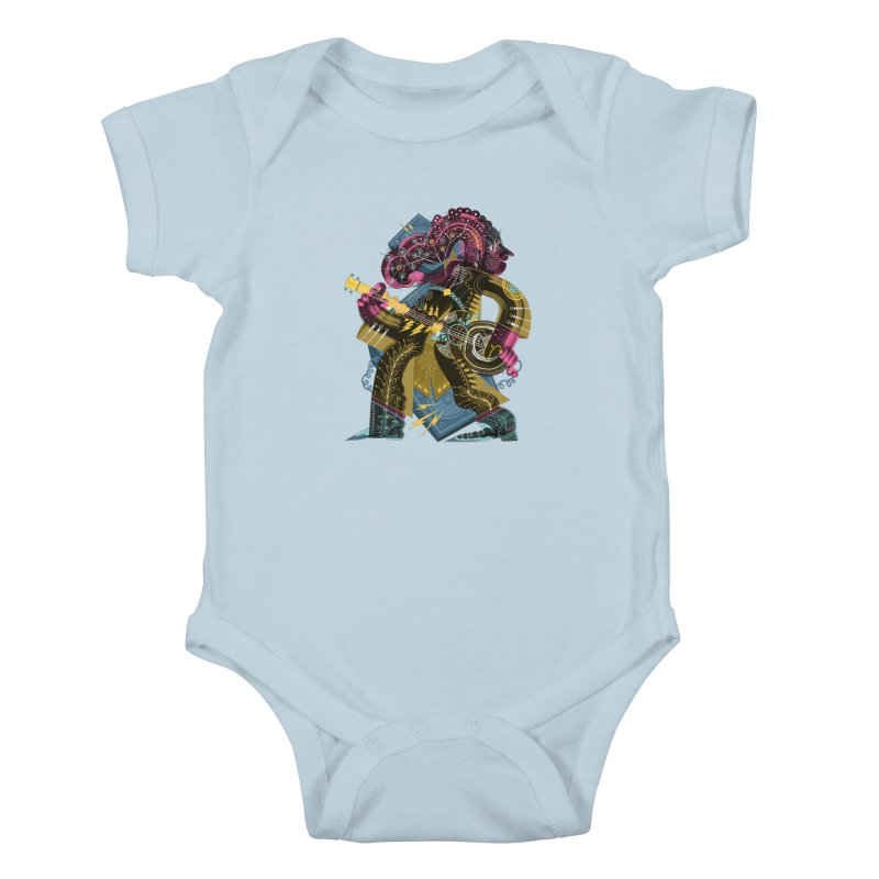 Something to Say Kids Baby Bodysuit by HABBENINK's Artist Shop