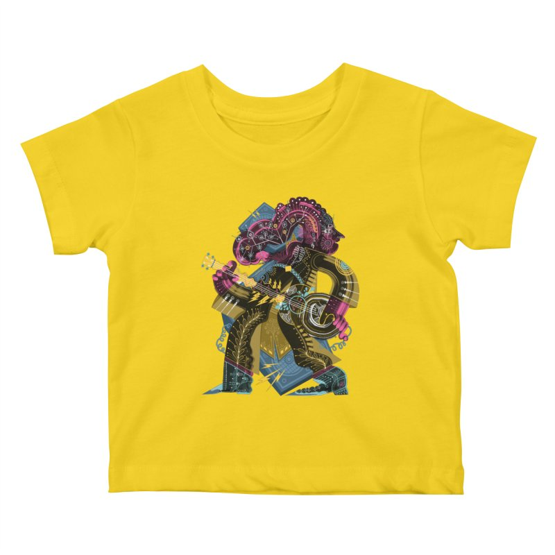Something to Say Kids Baby T-Shirt by HABBENINK's Artist Shop