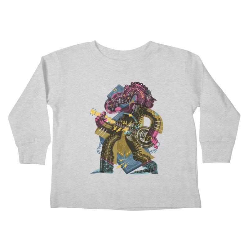Something to Say Kids Toddler Longsleeve T-Shirt by HABBENINK's Artist Shop