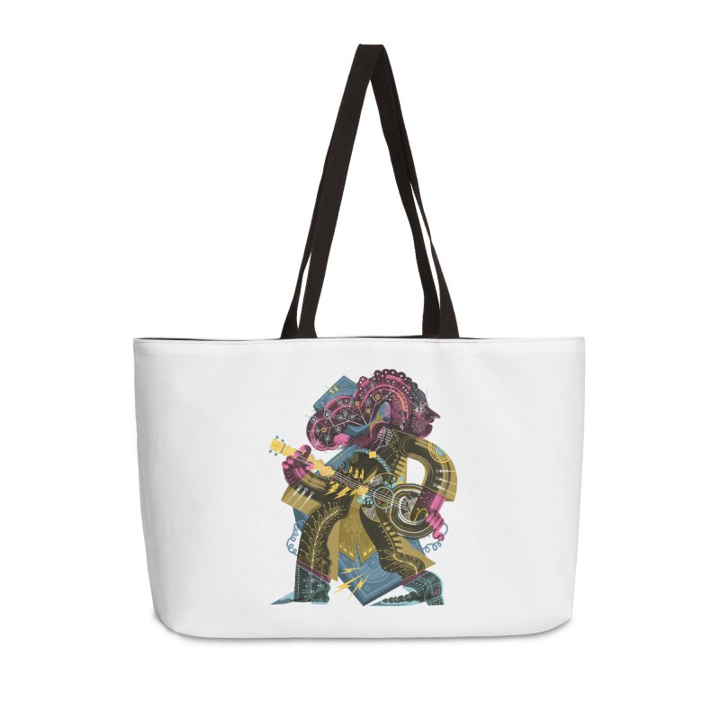 Something to Say Accessories Weekender Bag Bag by HABBENINK's Artist Shop