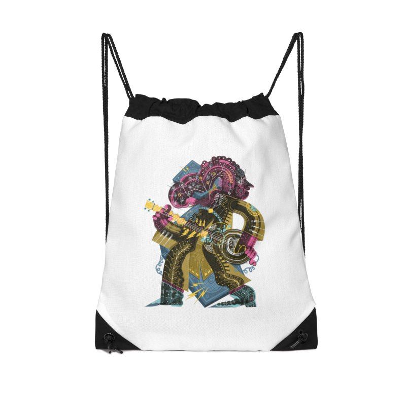 Something to Say Accessories Drawstring Bag Bag by HABBENINK's Artist Shop