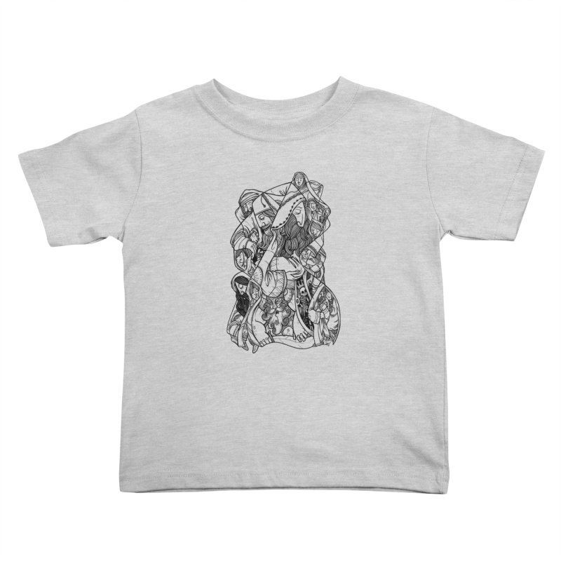 The Rise of Nations Kids Toddler T-Shirt by HABBENINK's Artist Shop