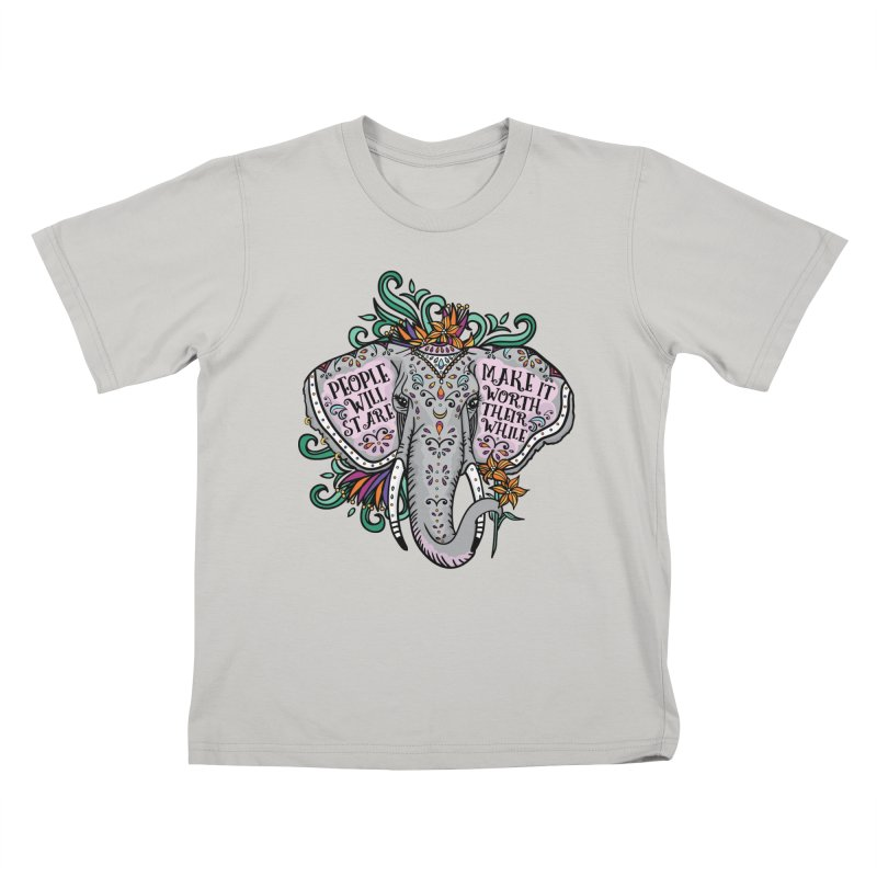 People Will Stare Kids T-Shirt by Haciendo Designs's Artist Shop