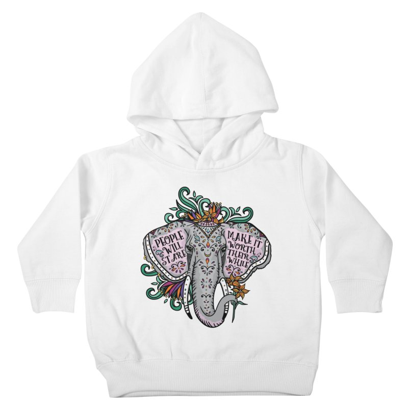 People Will Stare Kids Toddler Pullover Hoody by Haciendo Designs's Artist Shop