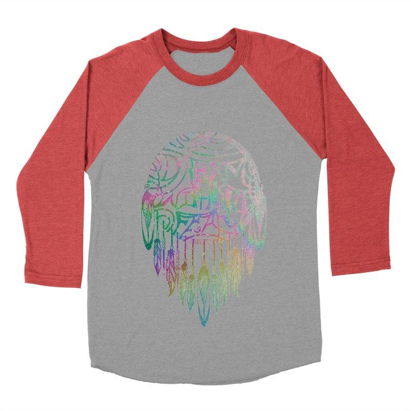 Dream Without Fear Men's Baseball Triblend T-Shirt by Haciendo Designs's Artist Shop