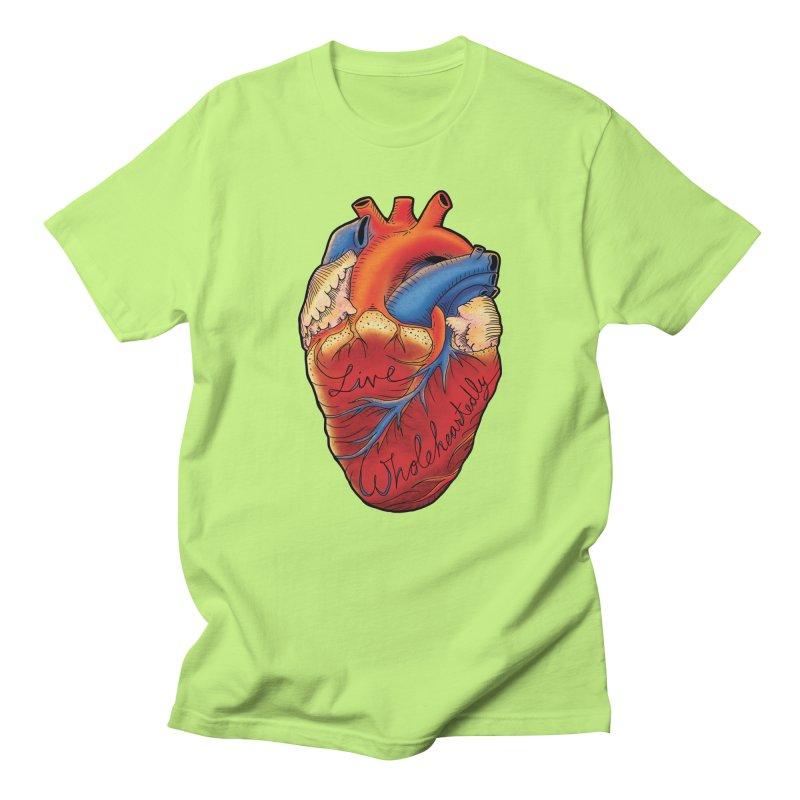 Live Wholeheartedly Women's T-Shirt by Haciendo Designs's Artist Shop