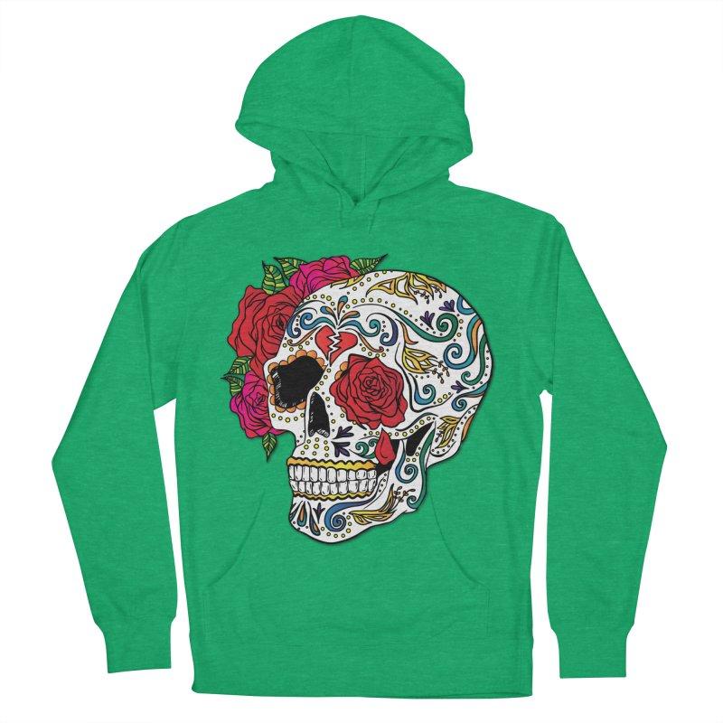 Heartbreak Sugar Skull Women's Pullover Hoody by Haciendo Designs's Artist Shop