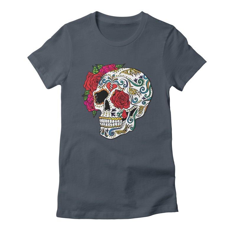 Heartbreak Sugar Skull Women's Lounge Pants by Haciendo Designs's Artist Shop