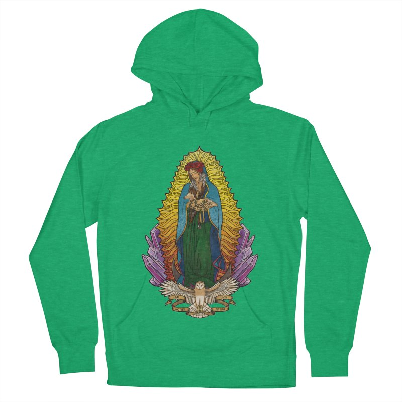 Our Lady Mother Nature Women's Pullover Hoody by Haciendo Designs's Artist Shop
