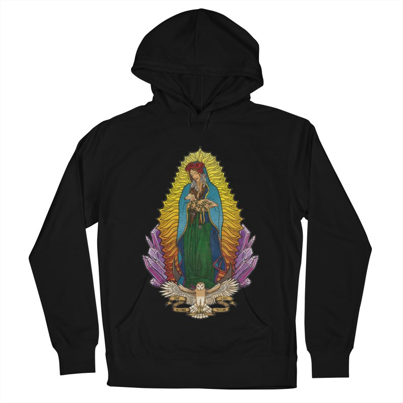 Our Lady Mother Nature Women's French Terry Pullover Hoody by Haciendo Designs's Artist Shop
