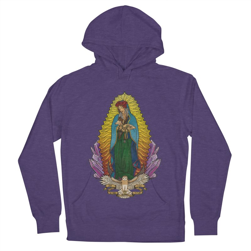 Our Lady Mother Nature Men's Pullover Hoody by Haciendo Designs's Artist Shop