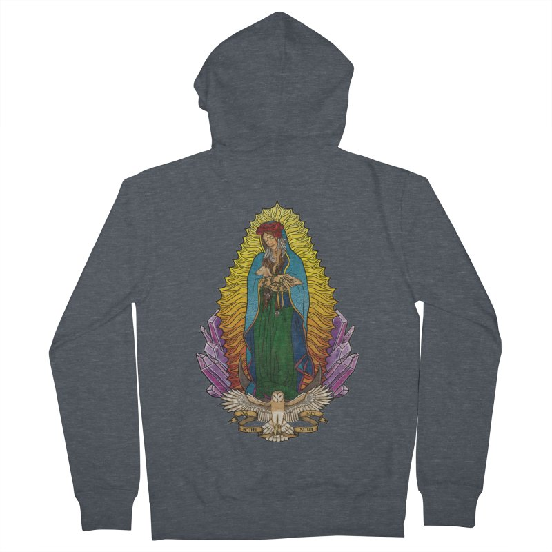 Our Lady Mother Nature Women's Zip-Up Hoody by Haciendo Designs's Artist Shop