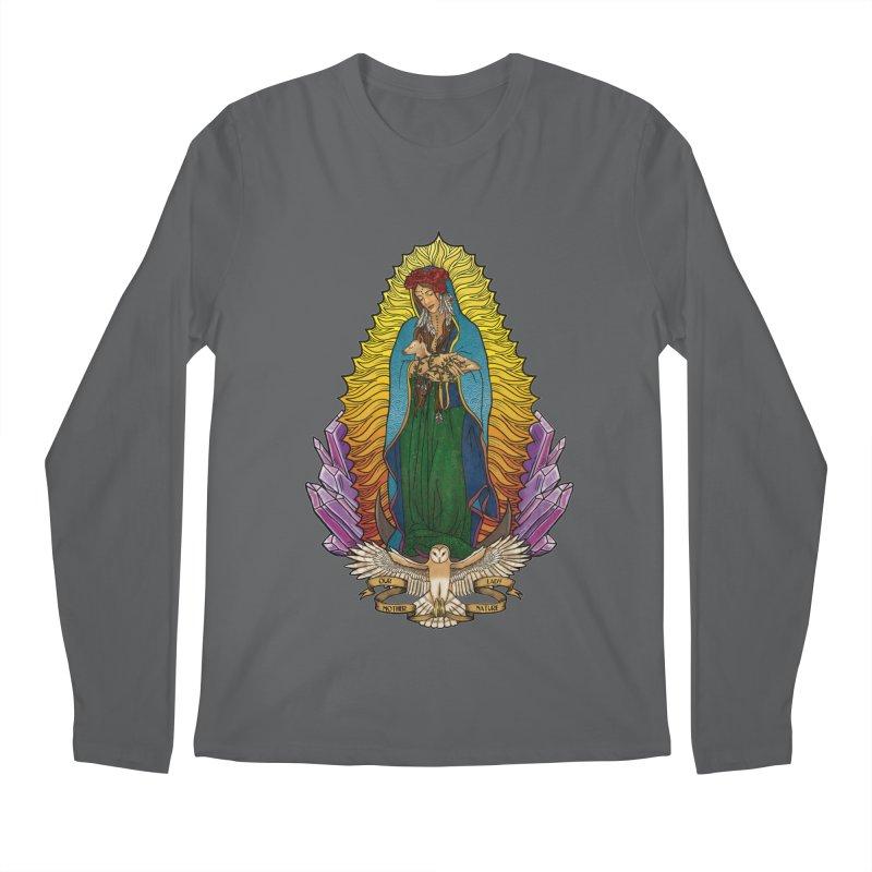 Our Lady Mother Nature Men's Regular Longsleeve T-Shirt by Haciendo Designs's Artist Shop