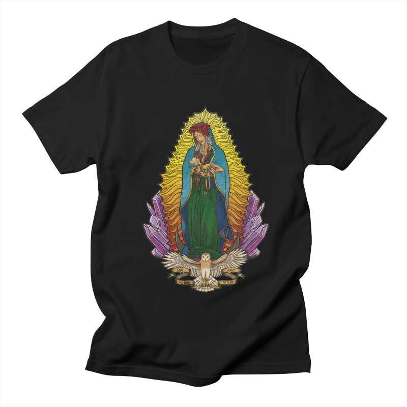 Our Lady Mother Nature Women's Regular Unisex T-Shirt by Haciendo Designs's Artist Shop