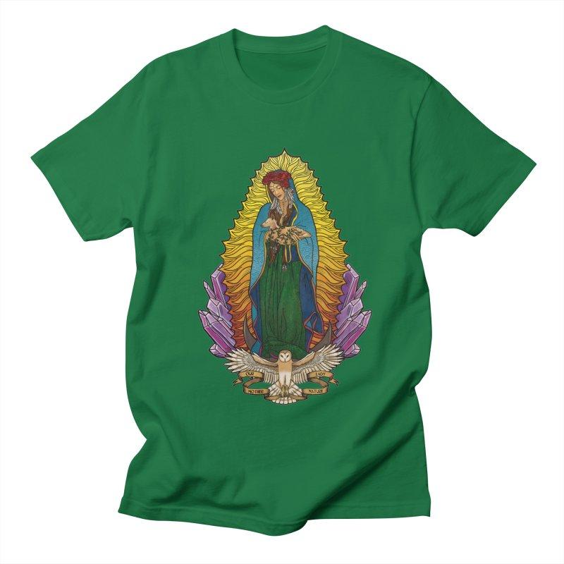 Our Lady Mother Nature Men's Regular T-Shirt by Haciendo Designs's Artist Shop