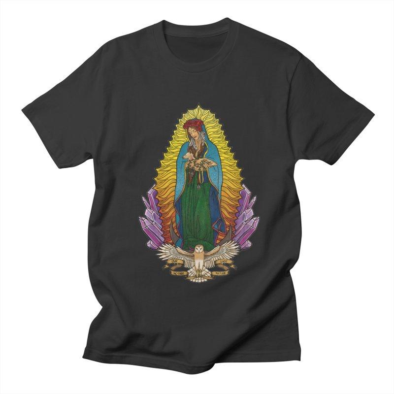 Our Lady Mother Nature Women's Regular Unisex T-Shirt by Haciendo Designs's Artist Shop