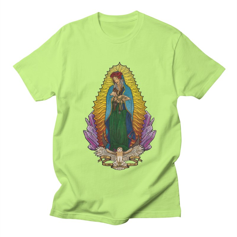 Our Lady Mother Nature Men's Regular T-Shirt by Haciendo Designs's Artist Shop