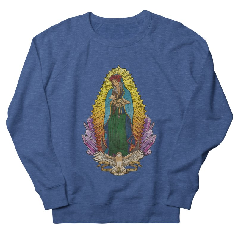 Our Lady Mother Nature Women's French Terry Sweatshirt by Haciendo Designs's Artist Shop