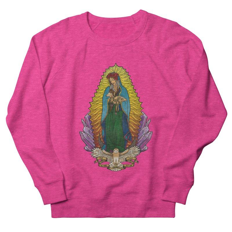 Our Lady Mother Nature Women's Sweatshirt by Haciendo Designs's Artist Shop