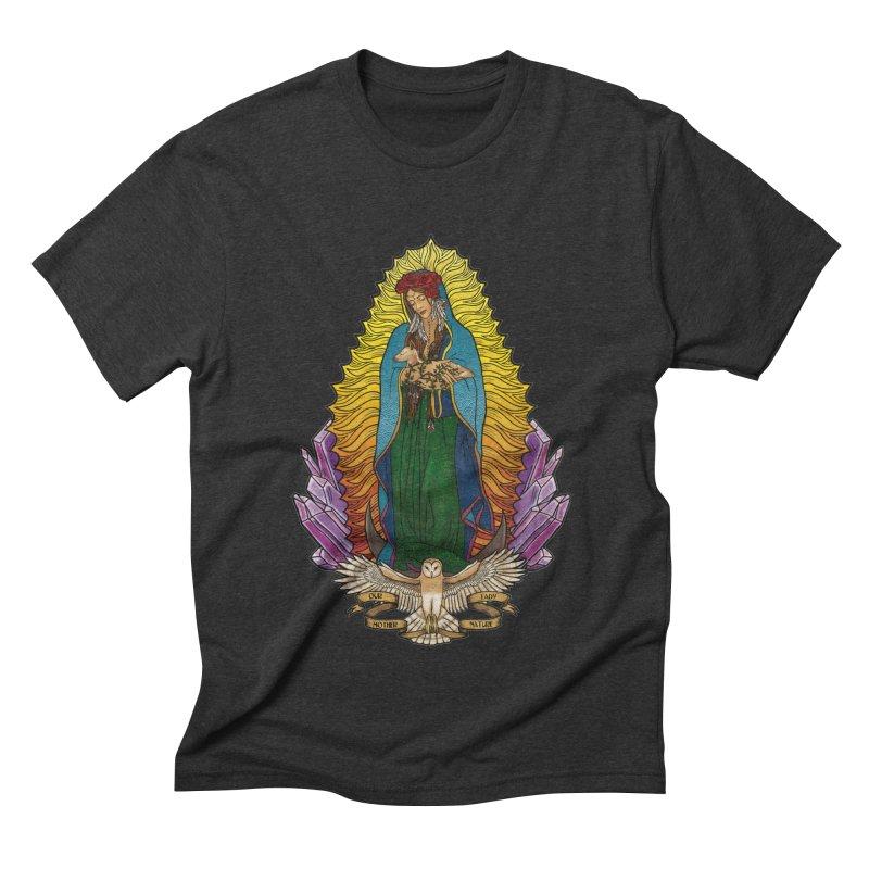 Our Lady Mother Nature Men's Triblend T-Shirt by Haciendo Designs's Artist Shop