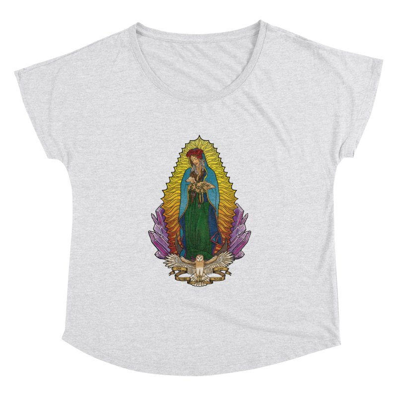 Our Lady Mother Nature Women's Dolman Scoop Neck by Haciendo Designs's Artist Shop