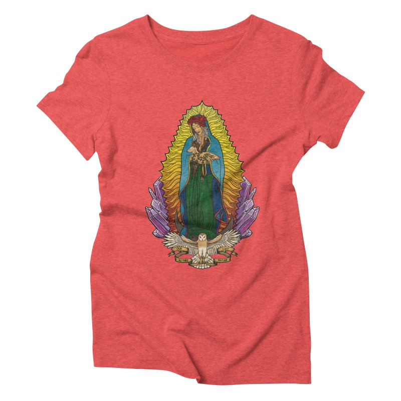 Our Lady Mother Nature Women's Triblend T-Shirt by Haciendo Designs's Artist Shop