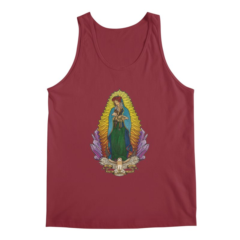 Our Lady Mother Nature Men's Tank by Haciendo Designs's Artist Shop