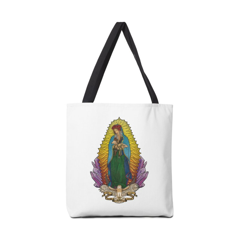 Our Lady Mother Nature Accessories Tote Bag Bag by Haciendo Designs's Artist Shop